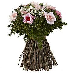Tu Freestanding Pink Rose Bouquet