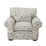 Sofia Floral Grey Chair