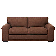 Darcey Chocolate Large Sofa