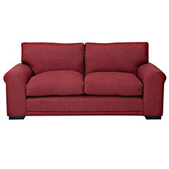 Darcey Red Large Sofa