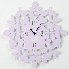 Gallery Pink Home Clock