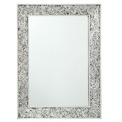 Rectangle Crackle Mirror
