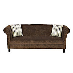 Portobello Large Chocolate Sofa