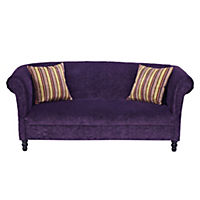 Portobello Regular Aubergine Sofa