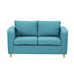 Tia Regular Teal Sofa