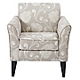 Ambrose Natural Floral Chair