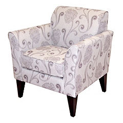 Ambrose Plum Floral Chair