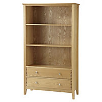Savannah Ash Veneer Bookcase