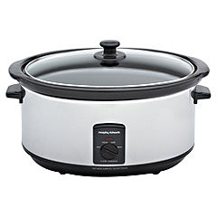 Morphy Richards 6.5L Chrome Slow Cooker
