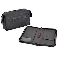 Wash Bag & Travel Wallet Set