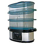 Morphy Richards 3 Tier Stainlees Steel Steamer