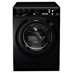 Hotpoint WMPF742K Black Washing Machine