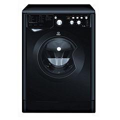 Indesit IWD7145K Black Washing Machine
