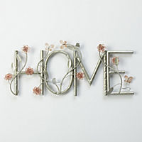 HOME Metal Wall Art 66x28cm