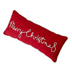 Tu Red Merry Christmas Cushion