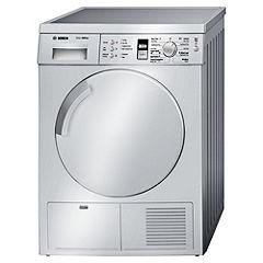 Bosch WTE843S1GB Silver Condenser Dryer