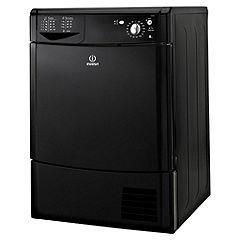 Indesit IDC85K Black Condenser Tumble Dryer