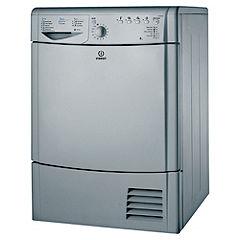 Indesit IDCA8350S Silver Condenser Tumble Dryer