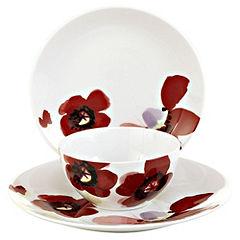 Tu Glam Floral 12-piece Dinner Set