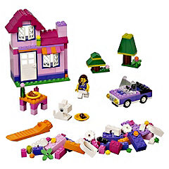 LEGO Bricks & More Pink Brick Box