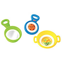Fisher-Price Brilliant Basics Stack n Nest Pots & Pans