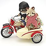 Sylvanian Families Motorcycle and Sidecar