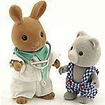 Sylvanian Families Paramedic and Patient