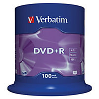 Verbatim DVD+R Spindle 100-pack