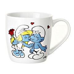 Smurfs Mug I Kissed a Smurf