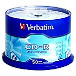 Verbatim CD-R Blank Disks 50-pack