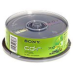 Sony CD-R Blank Disks 25-pack