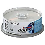 Sony DVD+R Blank Disks 25-pack