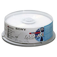 Sony DVD-R Blank Disks 25-pack