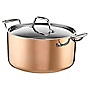 Cook's Collection Copper Tri-ply 24cm Stockpot