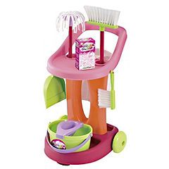 Bubble Clean Cleaning Trolley