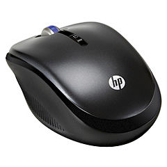 HP 2.4GHz Charcoal Wireless Optical Mobile Mouse