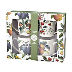 Royal Botanic Gardens at Kew Orchard Garden Mugs Set of 4