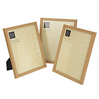 "Tu Oak-effect Frame 8x10"" Set of 3"