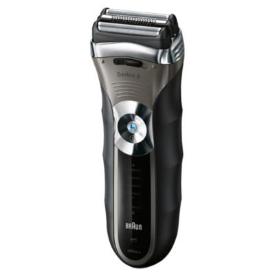 Braun Series 3 Shaver 390CC Wet and Dry with Clean and Renew System - image 1
