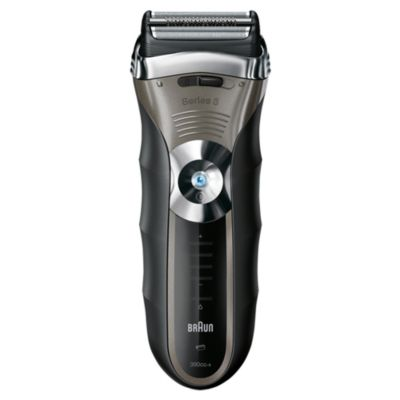 Braun Series 3 Shaver 390CC Wet and Dry with Clean and Renew System - image 2