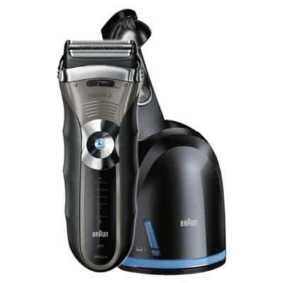 Braun Series 3 Shaver 390CC Wet and Dry with Clean and Renew System - image 3