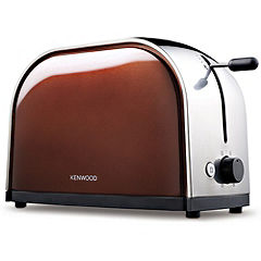 Kenwood TTM106 Metallics 2-slice Auburn Copper Toaster