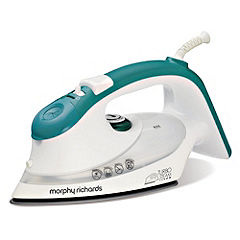 Morphy Richards White/blue Turbosteam 2000W Iron