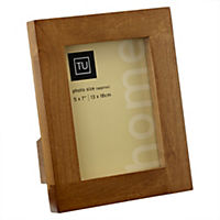 Tu Solid Dark Wood Frame 5x7""