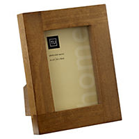 Tu Solid Dark Wood Frame 4x6""