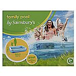 Sainsbury's Family Pool