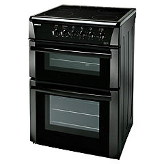 Beko DVC663K Black Electric Cooker