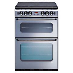 New World 600TSIDLMSI Silver Gas Cooker