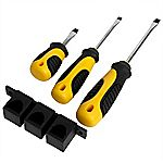 Sainsbury's Slotted Screwdriver Set