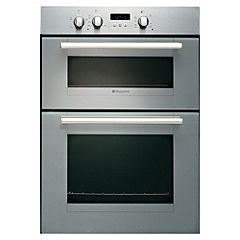 Hotpoint DY330GX Stainless Steel Integrated Gas Double Oven